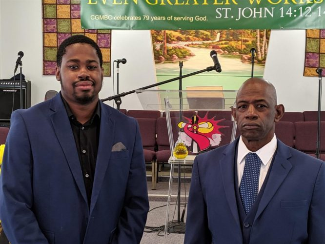 Rev Webb and Corey Fathers Day 2019