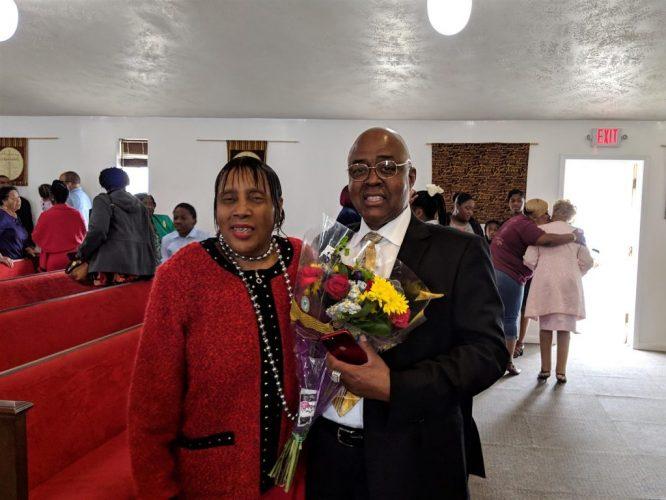 Shirley and Rev Martin Homecoming 2019